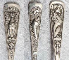 Durgin Renaissance multi-motif pattern, c1875 (SMP silver salon forums)