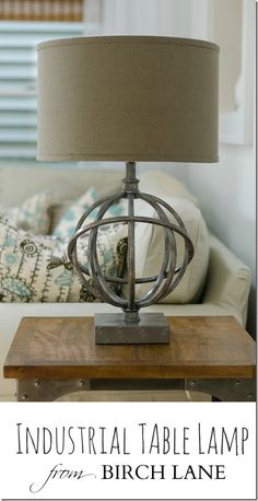 Industrial Look Table Lamps from Birch Lane