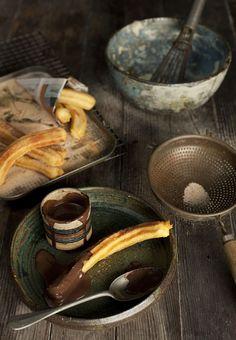 Churros and sauce, shot by Dario Milano. #food, #photography, #styling