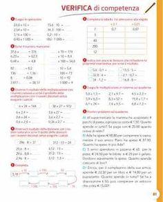 Passo dopo passo 4 - Matematica Utila, Mat Online, Case Study, Homeschool, Journal, Education, Maria Grazia, Free Stuff, Geography