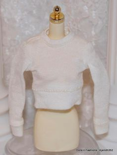Dynamite Girls Barbie Doll London Calling Collection Off White Top Blouse Shirt