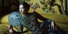 Chinese Pop Culture Primer: What You Need to Know About Liu Wen, China's Top Supermodel Liu Wen, Little Brown, Chinese Culture, Fantasy World, Fashion Shoot, Supermodels, Asian Girl, Pop Culture, China