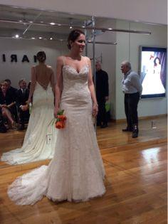 @loriburnsallen @Monte Durham #Marisa #BridalFashionWeek #BridalMarket