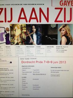 Agenda Dordrecht Pride