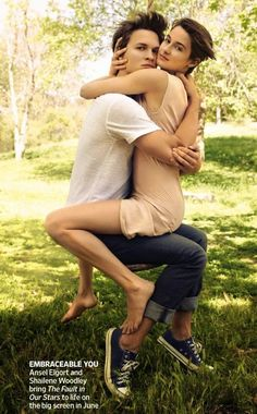 Ansel Elgort and Shailene Woodley's 'EW' Photo shoot is Adorable