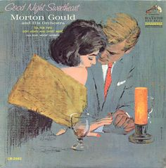 Morton Gould LP cover art illustrated by Mike Ludlow, RCA Victor, 1963