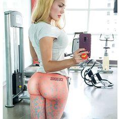 femme_felis Yoga Pants Leggings Fit gym