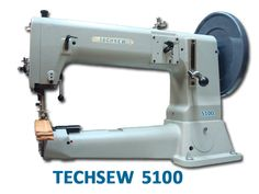 Techsew 5100 heavy leather industrial sewing machine