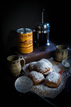 buttermilk beignets + chicory crème pâtissière by Beth Kirby | {local milk}, via Flickr