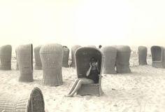 Postcards from Scheveningen - A Plea to revive the Scheveningen High Back Beach Chair (Dutch Design - Happy Hotelier Rattan, Wicker, Porter Chair, Beach Date, Wind Direction, Peacock Chair, The Porter, Beach Scenes, Beach Chairs