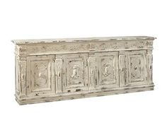 Shop+for+Furniture+Classics+Willow+Sideboard,+10-05,+and+other+Dining+Room+Sideboard+Cabinets+at+J+Miller's+in+Gulf+Breeze,+FL+-+Miramar+Beach,+Fl+-+Sandestin,+Fl+-+30a.+Shallow+enough+to+fit+in+any+room,+but+scaled+to+impress,+this+detailed+sideboard+features+an+antique+white+finish+rubbed+through+to+gold+leaf+accents+which+highlights+the+elaborate+carvings+Behind+each+pair+of+doors+is+a+full+width+fixed+shelf,+making+this+beauty+not+only+a+gorgeous+accent+for+your+home,+but+useful+as+well.