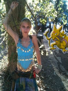 Pokemon Photoshop Kadabra by ZeroTheTrue