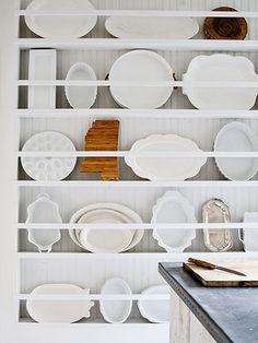 Unique way to display plates