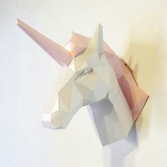 A cute UNICORN head