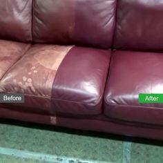 No Kit Leather Repair Color Restorer Recolor Couch Car Seat Sofa Tan Vilana