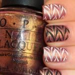 Matte stamping manicure with Born Pretty and OPI!