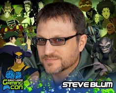 Meet Steve Blum at #SLGC17 July 7th-8th at the South Towne Expo Center in Sandy, Utah