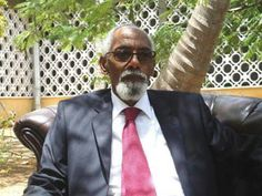 Somali Parliment Speaker of the House 2012 Mohamed Osman Jawari