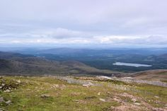 The spectacular view from the top. #Cairngorms Mountain