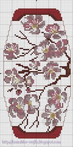 Cherry Blossom. Gallery.ru / Фото #40 - Схемы. Сумочки - игольницы - Lenu