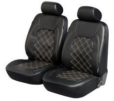 ZIPP IT Deluxe Paddington Auto Sitzbezüge aus Kunstleder für Vordersitze mit Reissverschluss System.