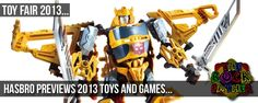 Toy Fair 2013: HASBRO previews new offerings for kids of all ages... #TF13
