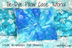 Tie Dye Pillow Case