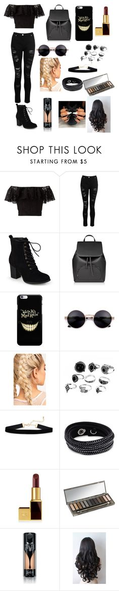 """""""Untitled #27"""" by xdhx16 ❤ liked on Polyvore featuring Philosophy di Lorenzo Serafini, Dorothy Perkins, Journee Collection, Swarovski, Tom Ford, Urban Decay and Kat Von D"""