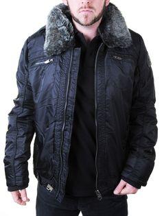 Blouson Redskins Homme New Chaz noir Prix: 139 euros - Tailles disponibles du S au XXL - Blackstore Brest Kergaradec