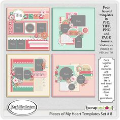 Pieces Of My Heart-8 By Kay Miller Designs
