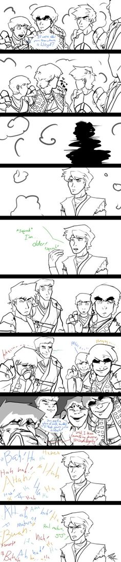 Still the Same? by RRproAni.deviantart.com on @DeviantArt That would've been hilarious in the show!!!!