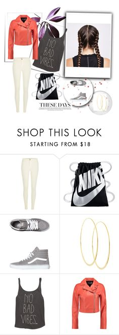 """soft but firce"" by roseryan13 on Polyvore featuring River Island, NIKE, Vans, Lana, Billabong and T By Alexander Wang"