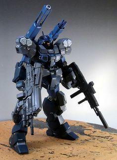 gunjap:  HGUC 1/144 RGM-96X Jesta Cannon: Modeled by sary19720910. Photoreview Big Size Imageshttp://www.gunjap.net/site/?p=120224