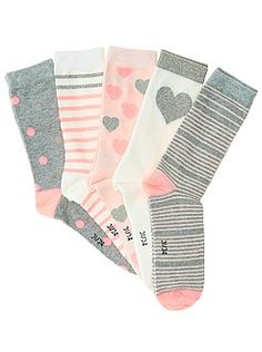 Leotardos, calcetines - Pack de 5 pares de calcetines - Kiabi