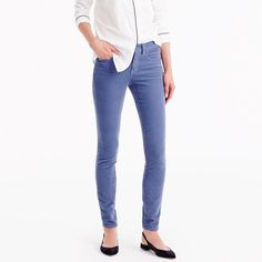 J. Crew, multiple colors, tall, $89.50. We made our famous skinny toothpick silhouette in a soft corduroy fabric (with a hint of stretch), just in time for cooler weather.