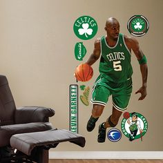 Fathead Kevin Garnett Boston Celtics - Wall Sticker Outlet