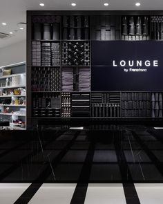 LOUNGE by Francfranc store by A.N.D., Tokyo   Japan fashion