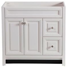 Home Decorators Collection Brinkhill 36 in. Vanity Cabinet Only in Cream-BWSD3621-CR at The Home Depot