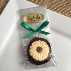 Chocolate Sunflower Oreo Cookie Party Favors... Wedding, Birthday, Anniversary, Party Candy  www.rosebudchocolates.com