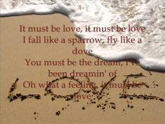 Don Williams-It must be love(lyrics)