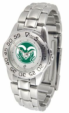Colorado State University Rams Sport Steel Band - Ladies - Women's College Watches by Sports Memorabilia. $50.76. Makes a Great Gift!. Colorado State University Rams Sport Steel Band - Ladies