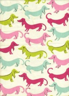 Puppy Print Fabric, perfect for Birdie's party dress