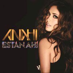 Caratula Frontal de Anahi - Estan Ahi (Cd Single)