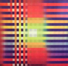 Untitled Set of 2 Agamographs 1995 3-D by Yaacov Agam