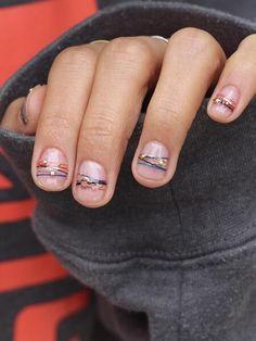 Bracelet nail art 1