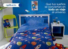Un cuarto para tus hijos lleno de diversión, sueños y mucho color.