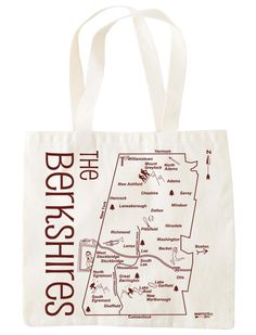 Map gift tote | Environmentally friendly, reusable totes and more | Made in the USA