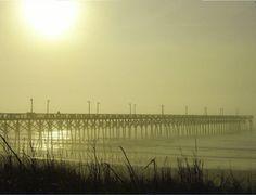 Surf City, NC Foggy Pier