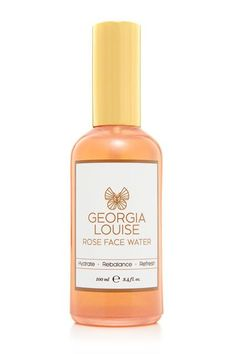 "Georgia Louise Rose Face Water ""What can I say? I created this luxurious bottle to add tremendous hydration to skin. It also tightens the pores, and is excellent for anti-aging, so it's a great addition to your daily cleansing ritual. The rose otto is calming, and the pomegranate glycerol extract will help keep your skin supernaturally moisturized."" #refinery29 http://www.refinery29.com/new-york-beauty-expert-recommendations#slide-6"