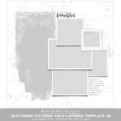 12x12 Layered Scrapbook Page Scrapbook Pages, Digital Scrapbooking, Layers, Templates, Abstract, Artwork, Pictures, Layering, Summary